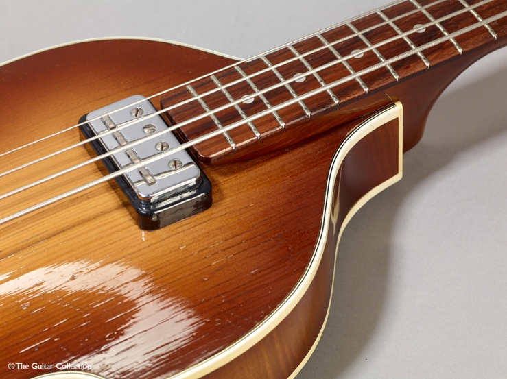 Paul MaCarney's Hofner bass