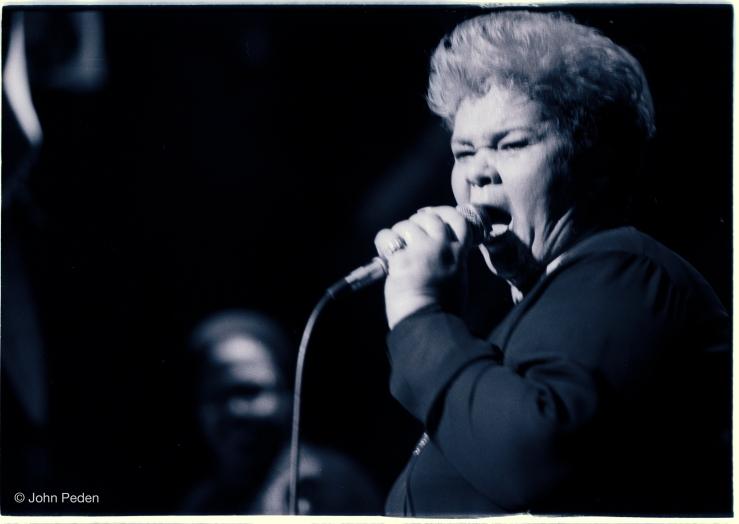 Etta James SOBs 1986