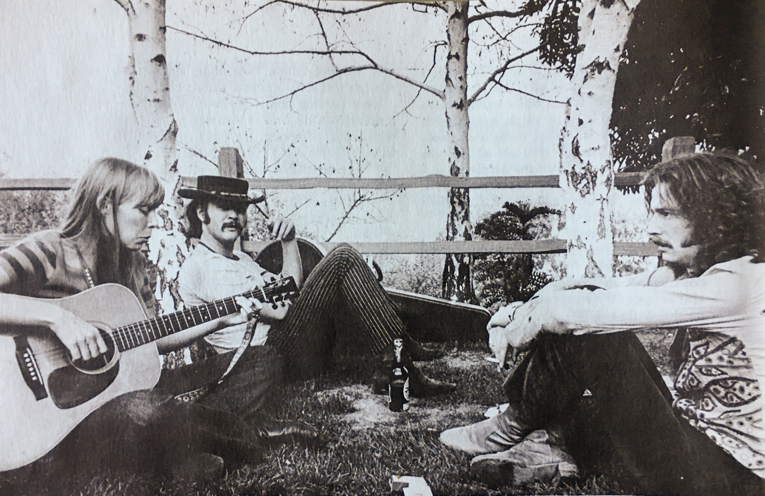 Without a doubt the coolest place to be in 1968 was Laurel Canyon preferably at Joni Mithell's with a few Martins laying around so David Crosby and Eric Clapton could join in provided they knew which tuning she was using.
